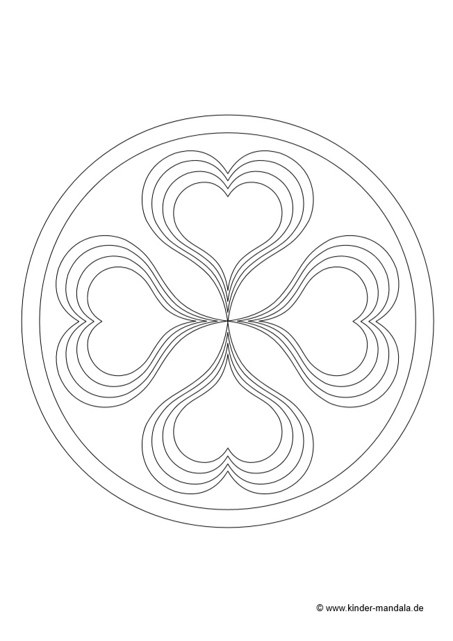 Mandalas Fur Kinder Zum Ausdrucken Und Ausmalen Kinder Mandala