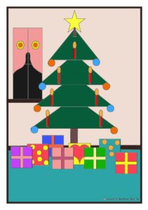 Weihnachten und Winter, Weihnachtsbaum